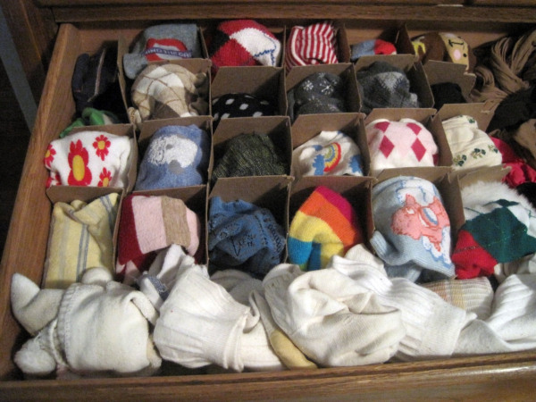 12 organize your sock drawer