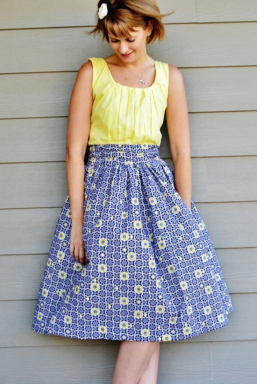 13 A Gathered Dress