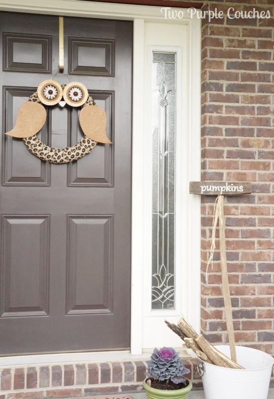 13 Adorable Owl Wreath