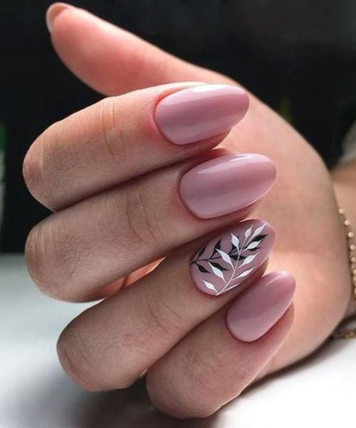 13 Leaf Nail Art Designs