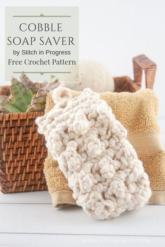 14 Cobble Soap Saver Bag