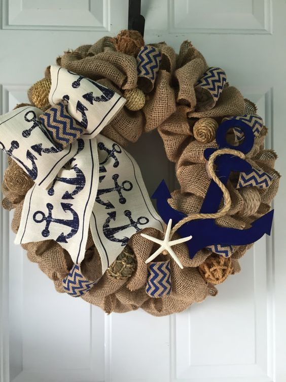 14 Rustic Wreath Home Decor