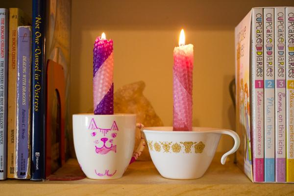14 Teacup Candle Holder