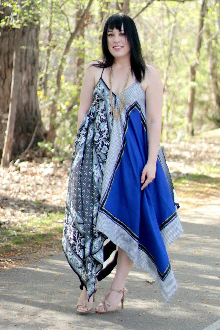15 Boho Scarf Maxi Dress