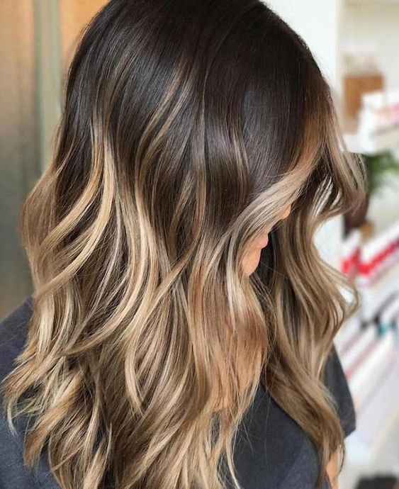 15 Brunette Balayage Hair