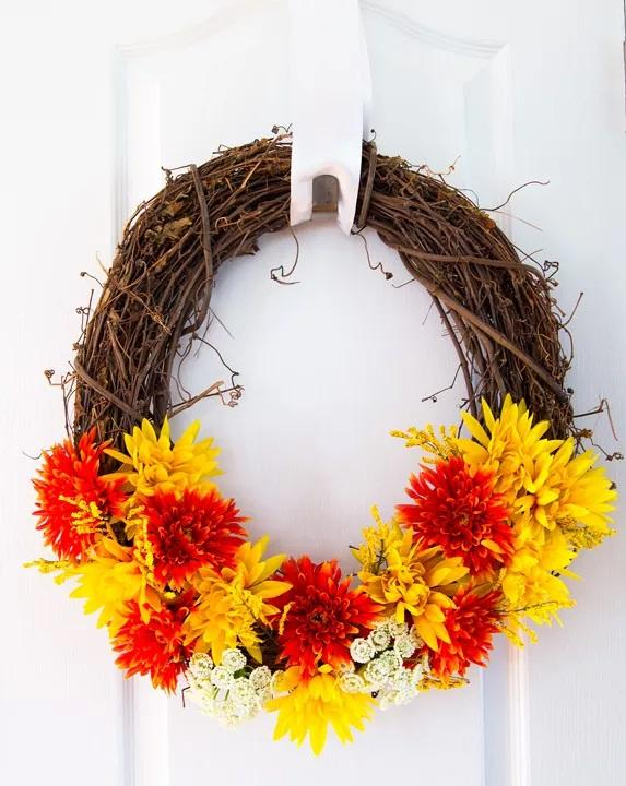 15 Fall Wreath