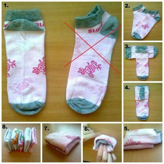 15 Folding Socks