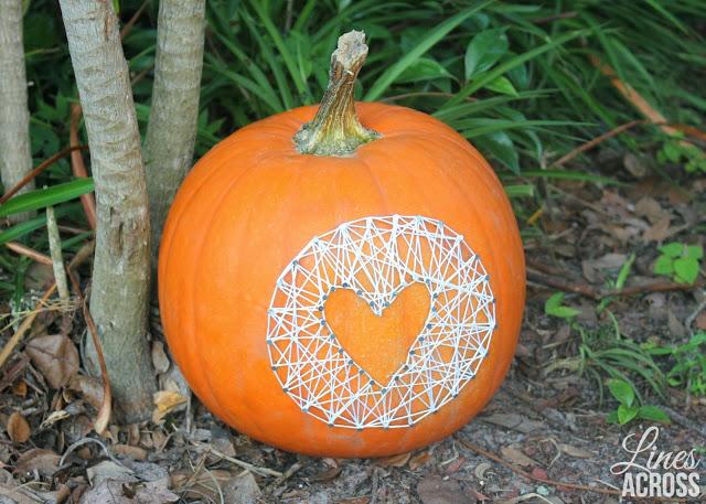 15 Pumpkin String Art