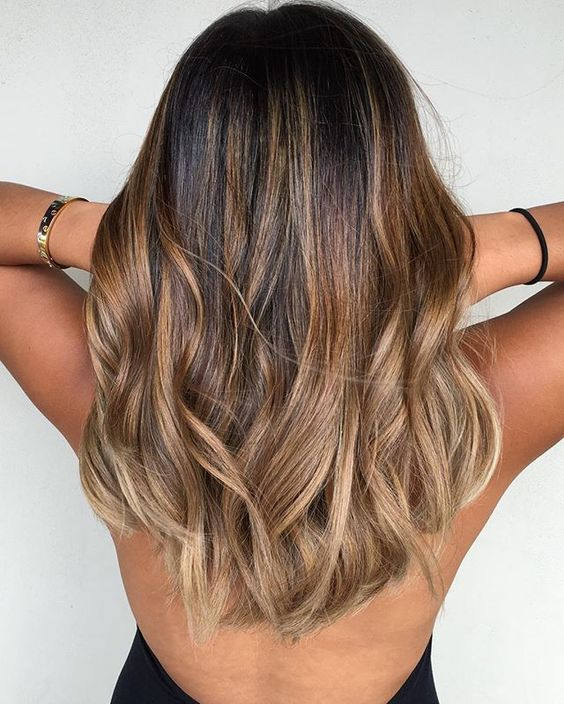 16 Brunette Balayage Hair