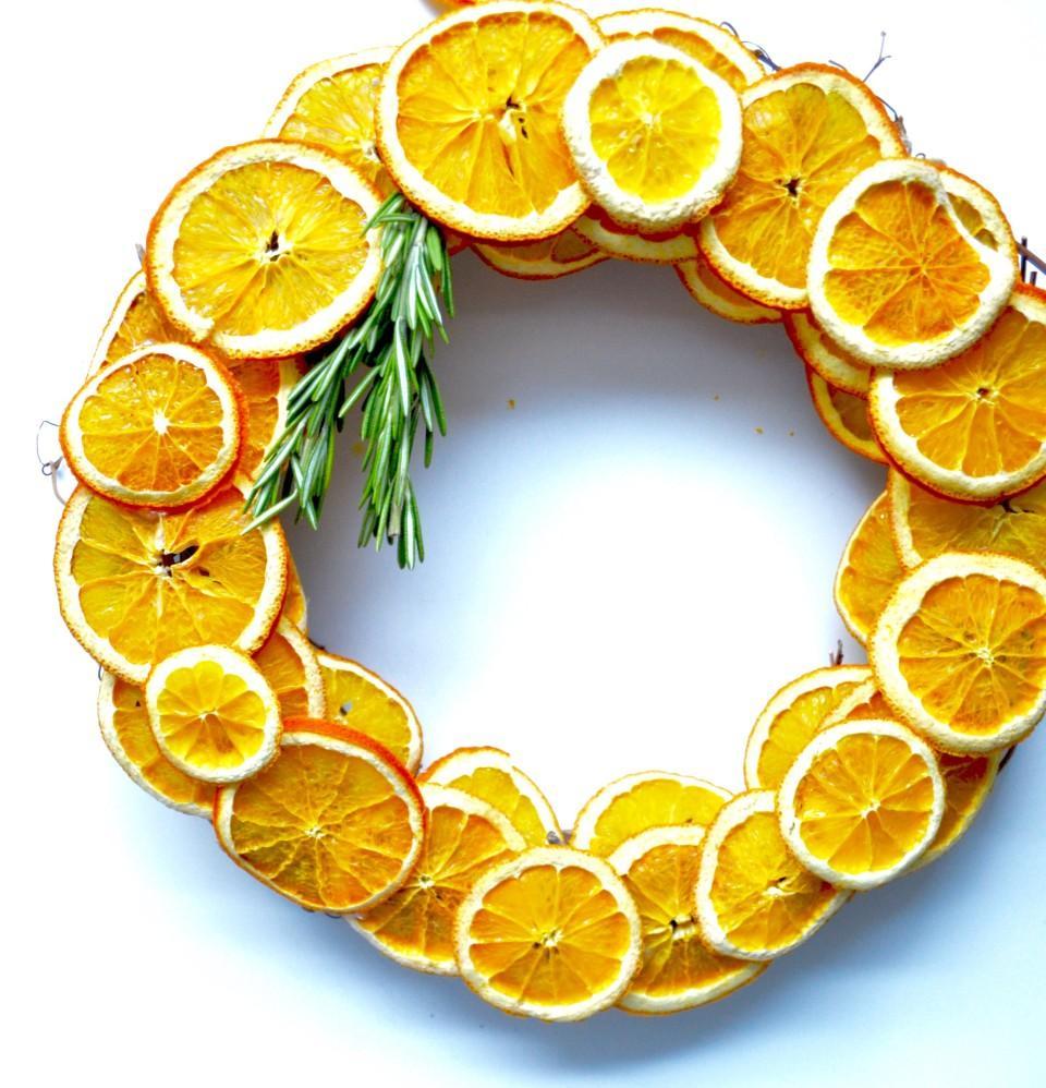16 Dried Citrus Wreath