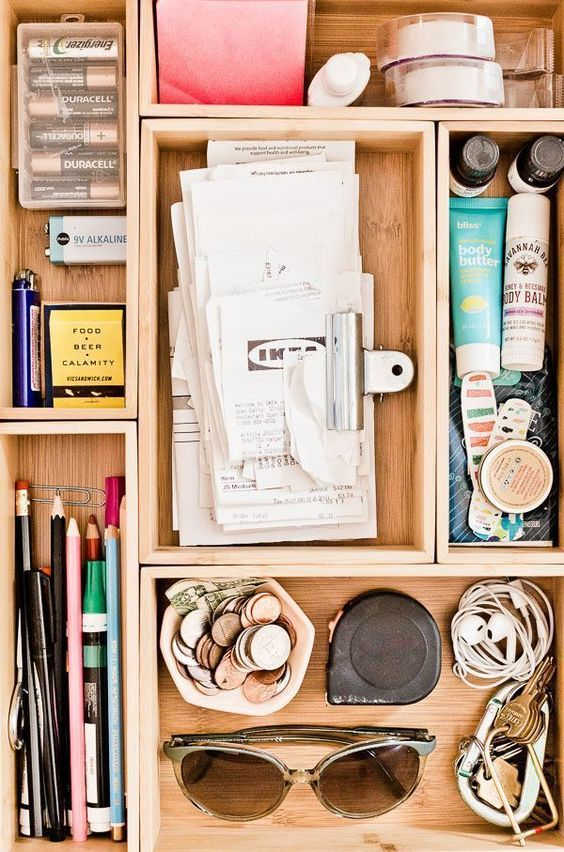 17 How to Organize Your Junk Drawer Once