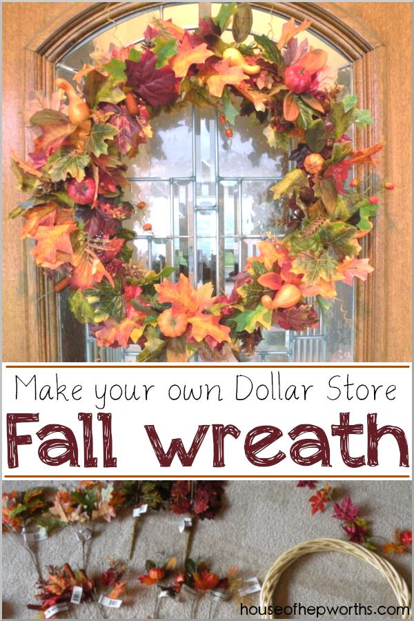 17 Make your own Fall Wreath