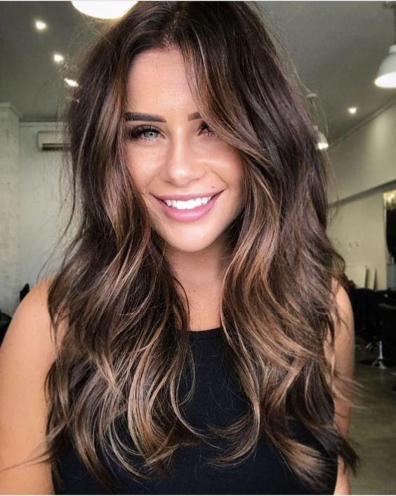 18 Brunette Balayage Hair