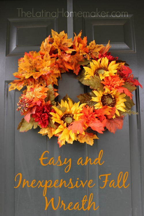 18 EASY AND INEXPENSIVE FALL WREATH