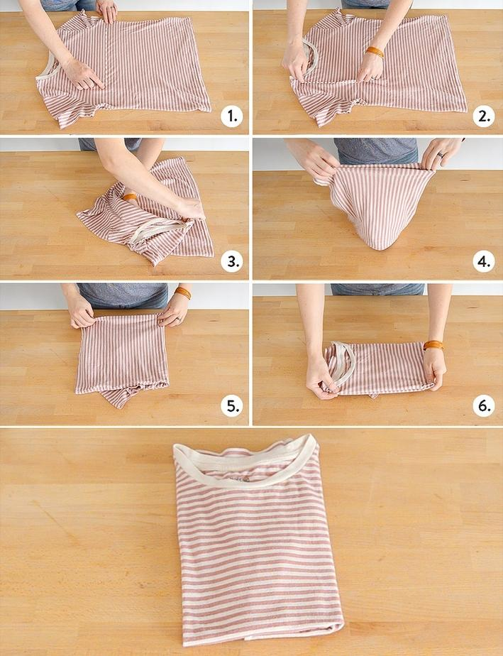 18 How to fold a t-shirt