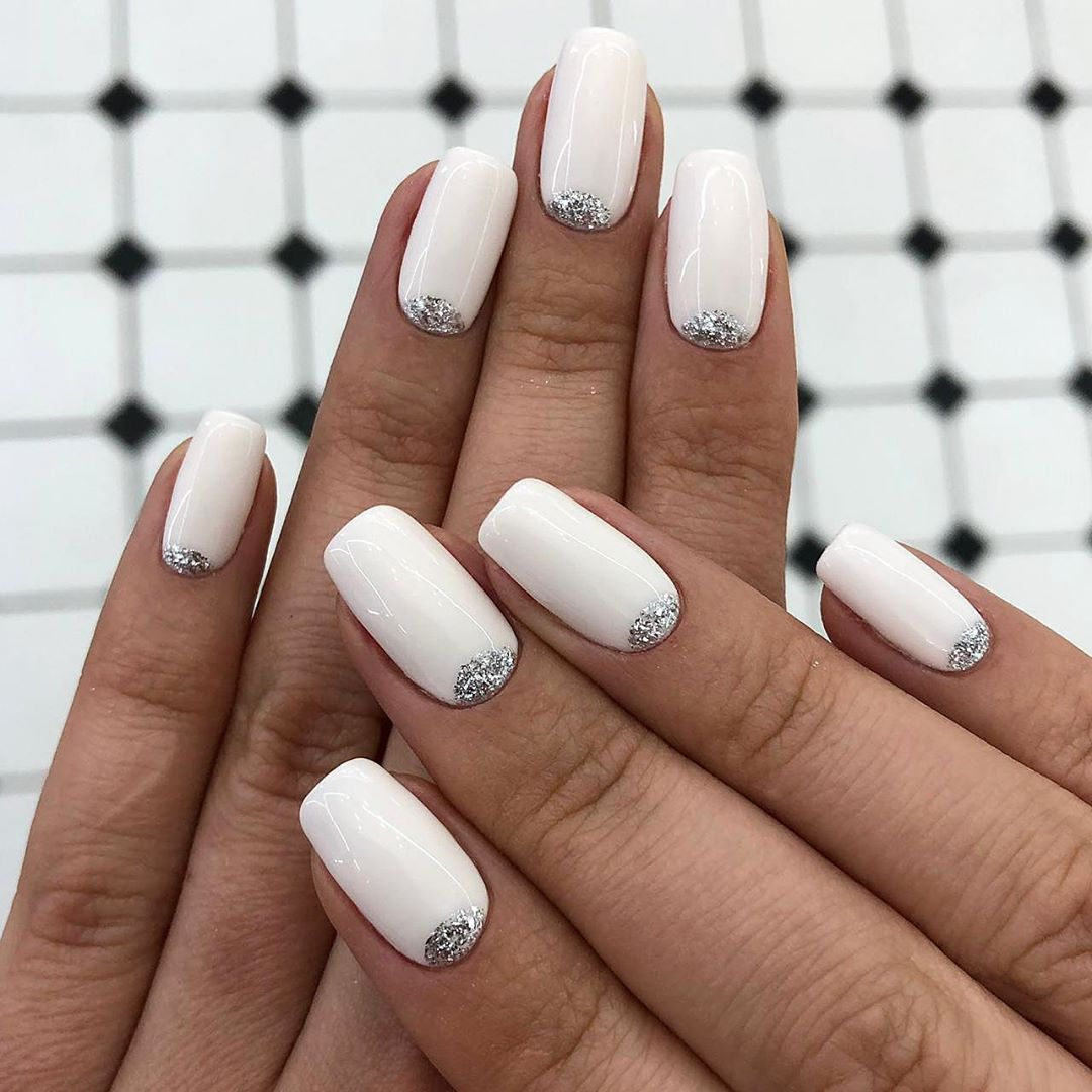 19 White Nail Art Designs