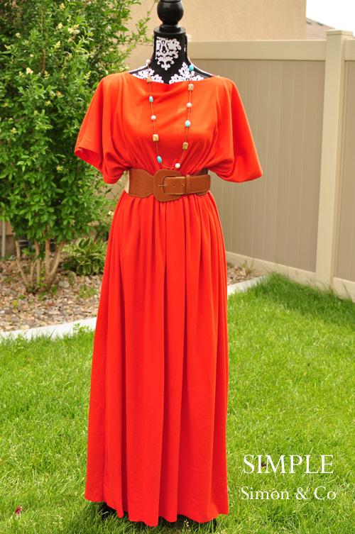 2 Effortless Caftan Dress