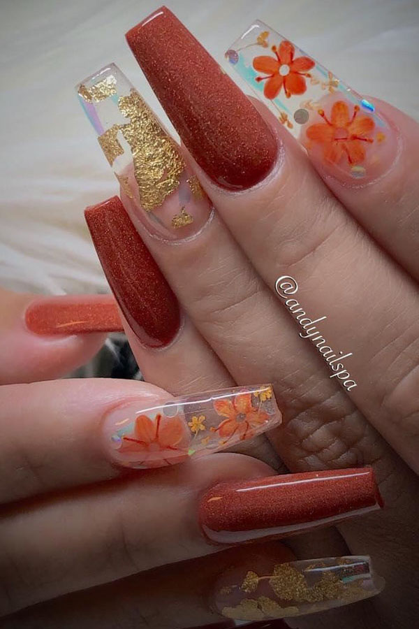 2 Fall Nail Art Designs