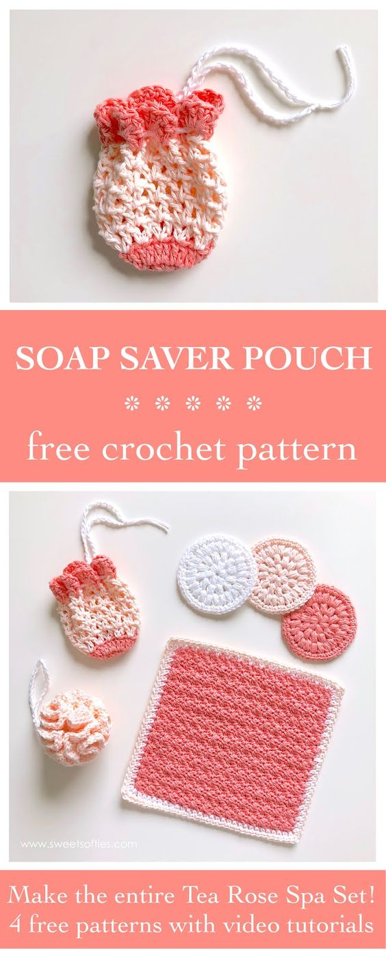 2 Soap Saver Pouch