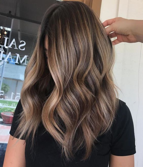 20 Brunette Balayage Hair