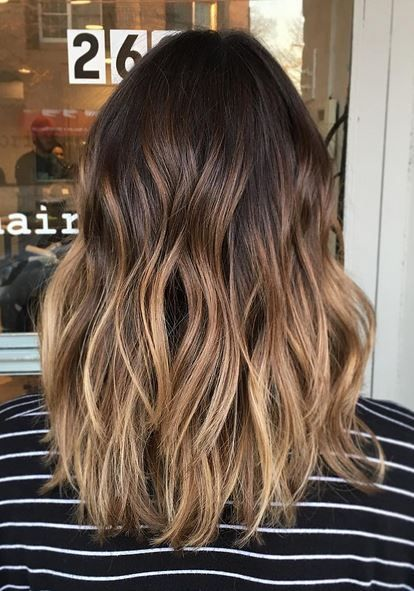 21 Brunette Balayage Hair