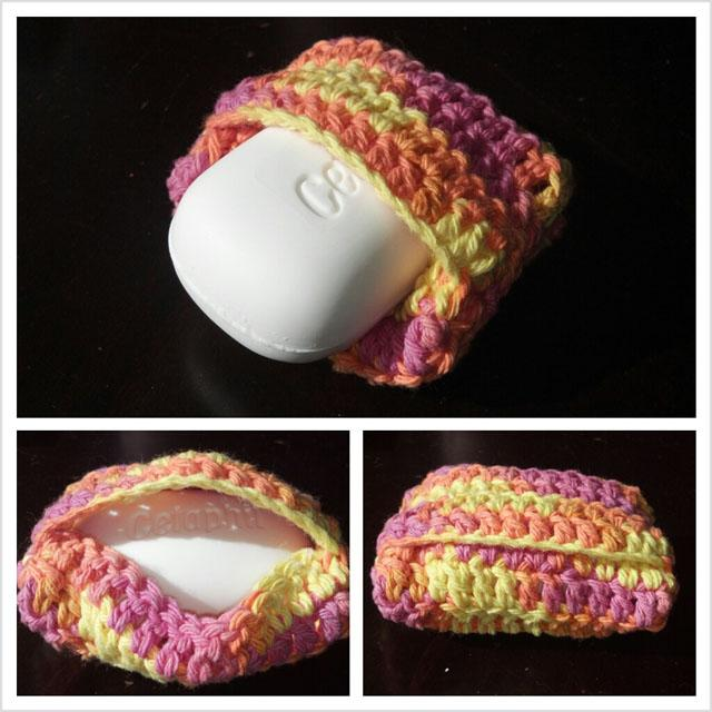 21 Crocheted Soap Saver