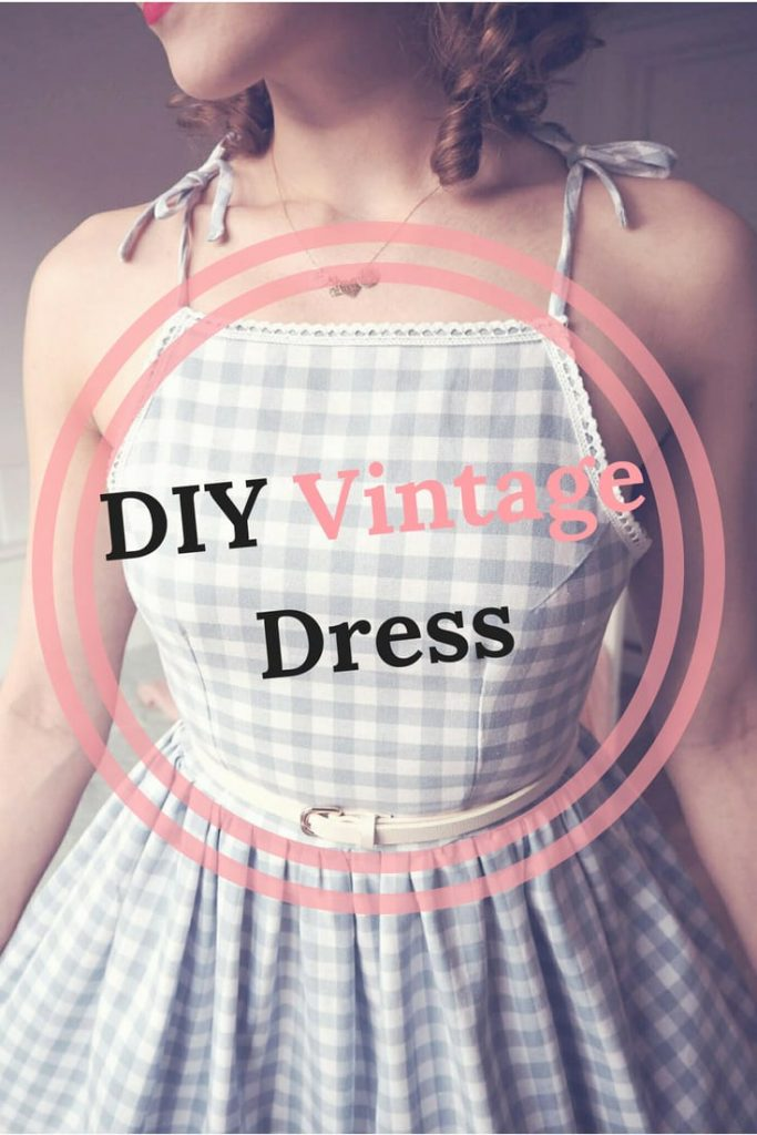 21 DIY Vintage Dress