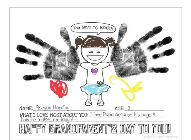 21 Grandparents Day Printable