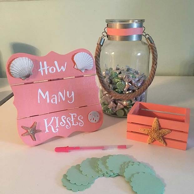 21 How Many Kisses Guess Jars