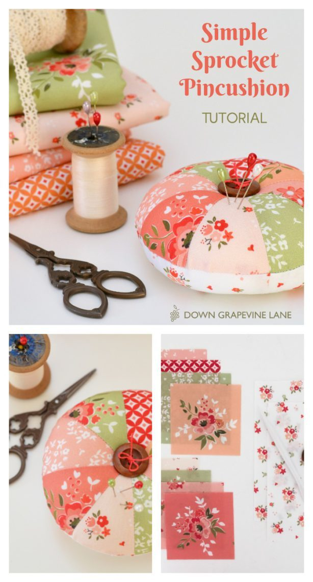 21 Simple Pincushion Tutorial