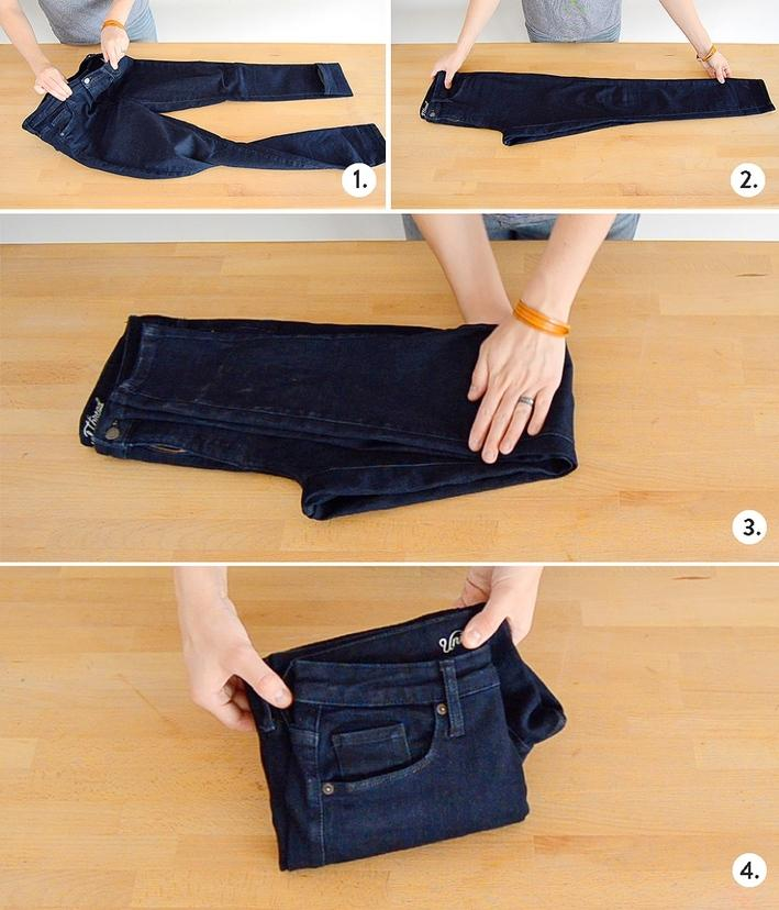 22 HOW TO FOLD PANTS