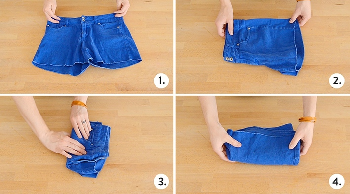 23 How to fold shorts