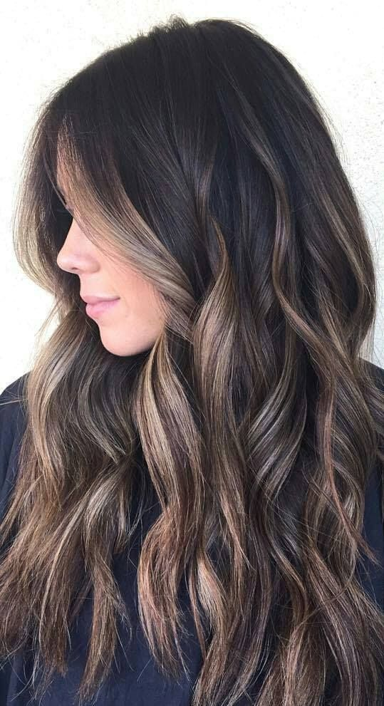 24 Brunette Balayage Hair