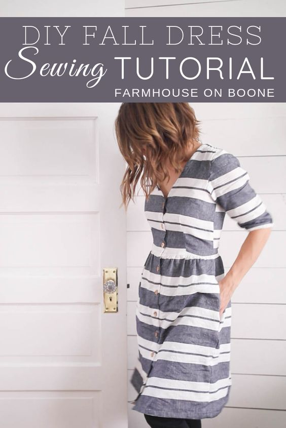24 Simple DIY Fall Dress