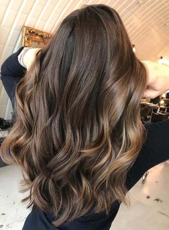 25 Brunette Balayage Hair