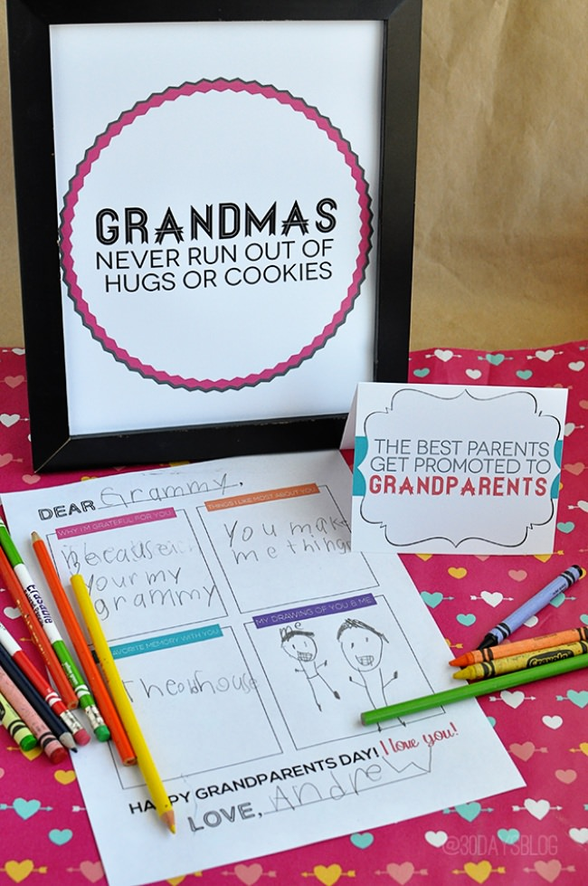 25 Celebrate Grandparents Day