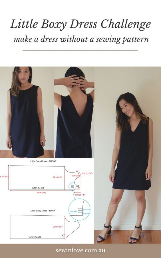 25 How to Make a Dress Without a Pattern