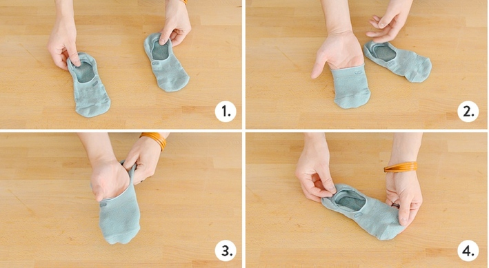 25 How to fold socks without an ankle