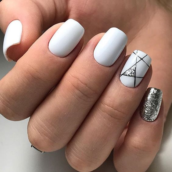 25 White Nail Art Designs