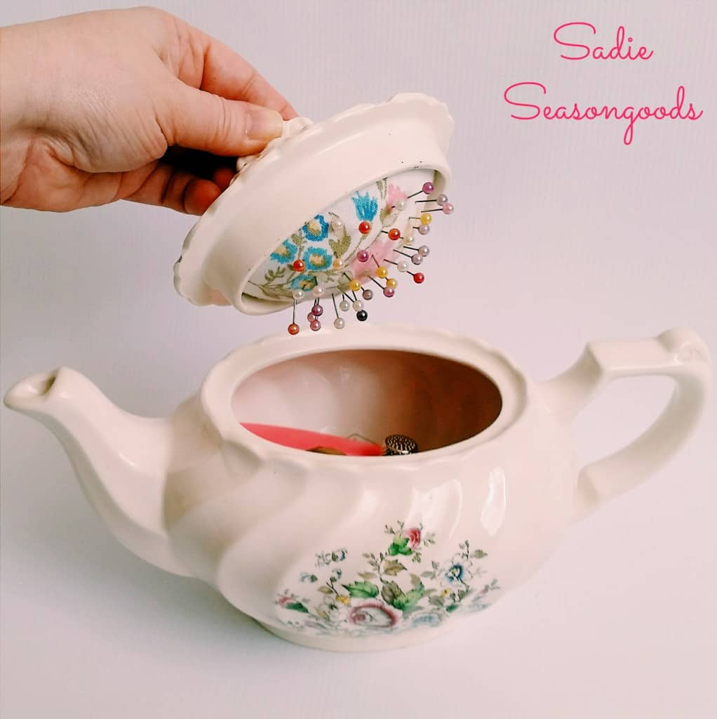 26 Teapot Pincushion Pattern Free