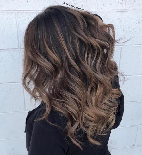 27 Brunette Balayage Hair