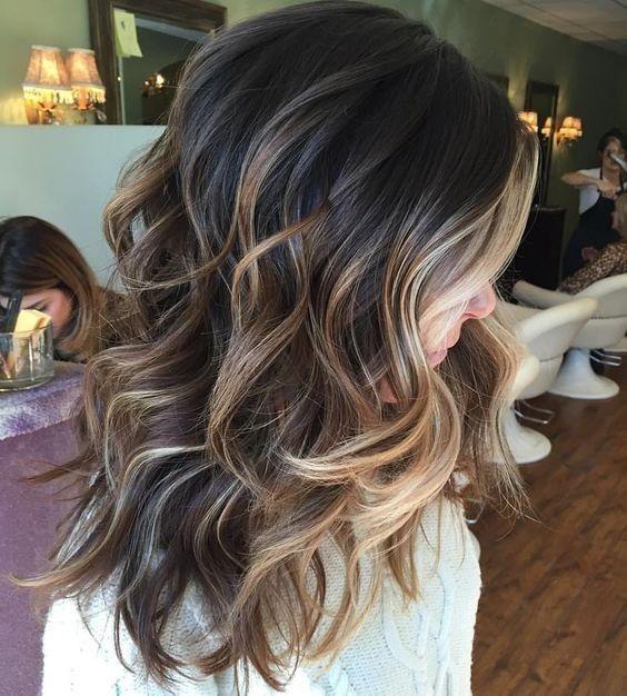 28 Brunette Balayage Hair