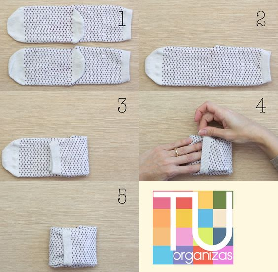 28 How to fold socks