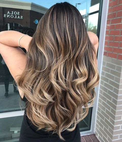 30 Brunette Balayage Hair