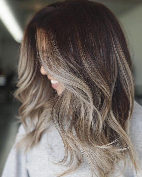 32 Brunette Balayage Hair