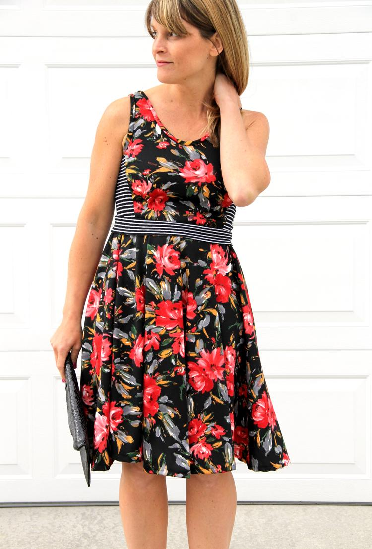 33 Easy Summer Swing Dress