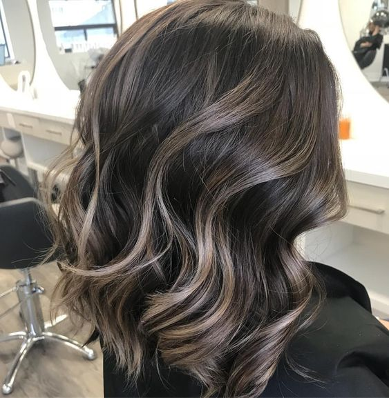 34 Brunette Balayage Hair