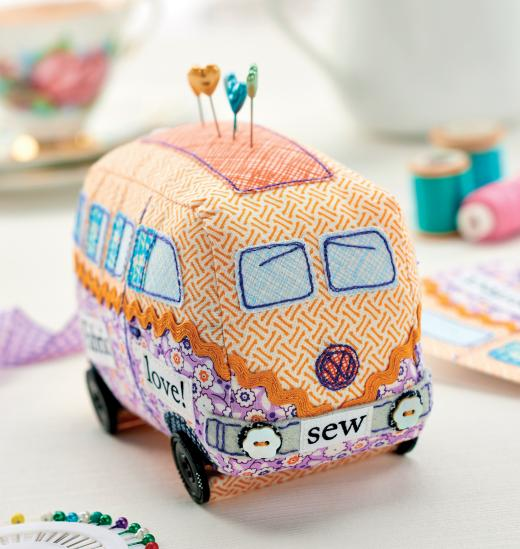 34 Campervan Pincushion