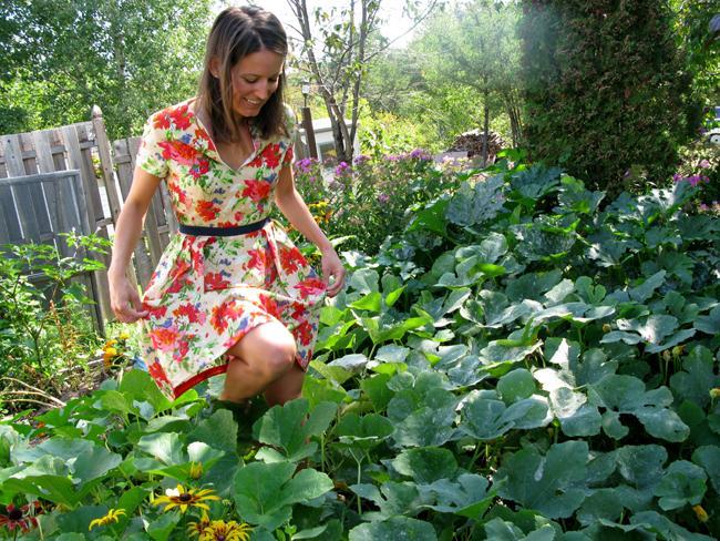 34 Garden Party Dress