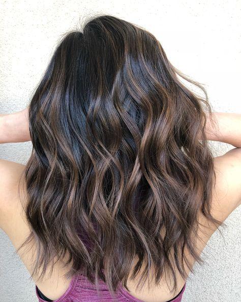 35 Brunette Balayage Hair